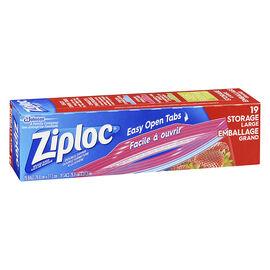 Ziploc Storage Bags - Large - 19's