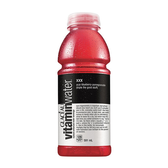 Glaceau Vitamin Water XXX - Acai Blueberry Pomegranate - 591ml