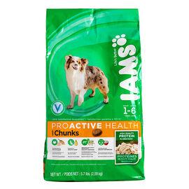 Iams ProActive Health Chunks Adult Dry Dog Food - 2.59kg
