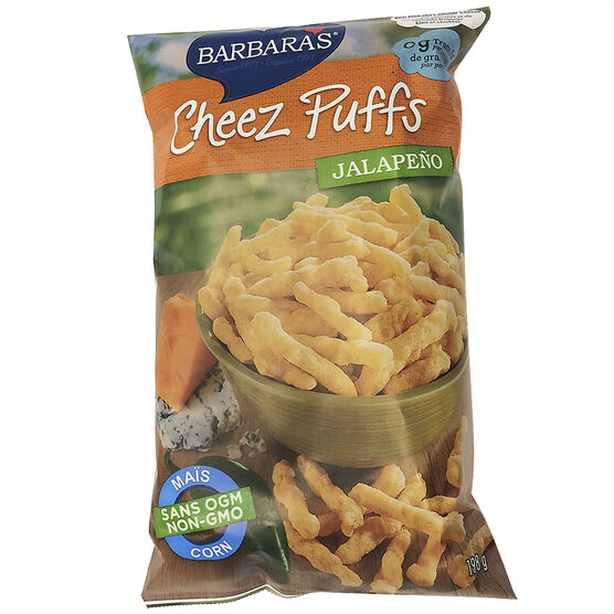 Barbara's Cheese Puffs - Jalapeno - 198g