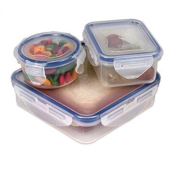 Starfrit Lock & Lock Airtight Lunch Kit Set - 6 Piece