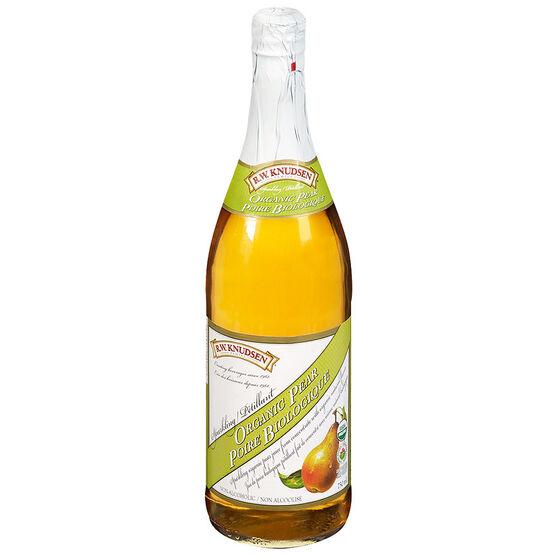 R.W. Knudsen Family Sparkling Organic Pear - 750 ml