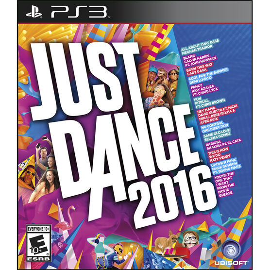 PS3: Just Dance 2016