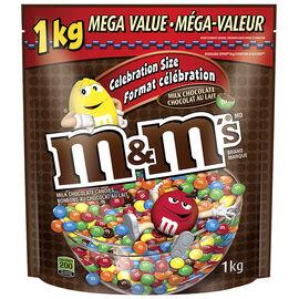 M&M's Chocolate Candy - Milk - 1kg