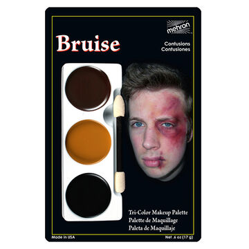 Halloween Tri-Colour Palette - Bruise