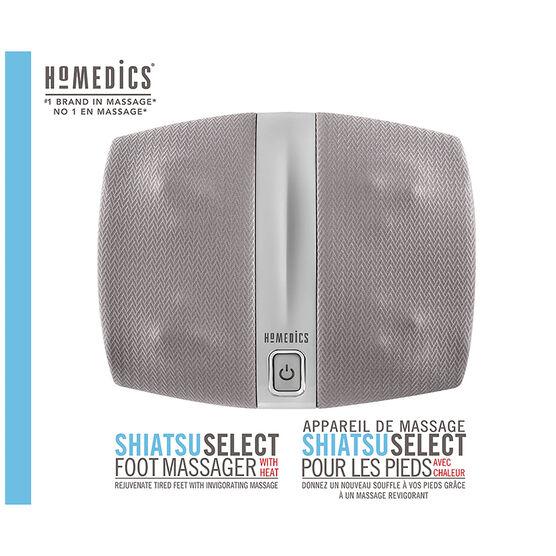 Homedics Shiatsu Select Foot Massager with Heat - FMS-255H-CA