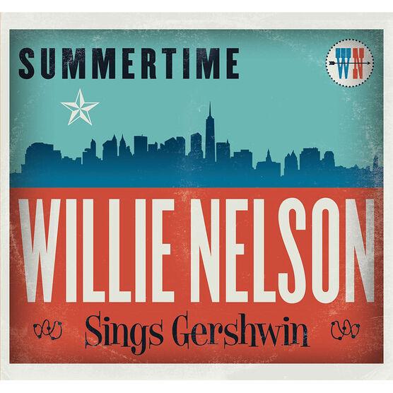 Willie Nelson - Summertime: Willie Nelson Sings Gershwin - CD