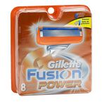 Gillette Fusion Power Blades - 8 cartridges