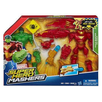 Marvel Super Hero Mashers - Hulk Buster VS Hulk