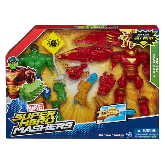 Marvel Super Hero Mashers - Hulk Buster VS Hulk