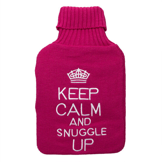Star&Rose Keep Calm Hot Water Bottle Cover - Assorted