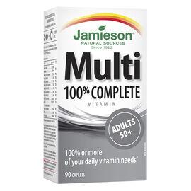 Jamieson Multi 100% Complete Vitamin - Adults 50+ - 90's