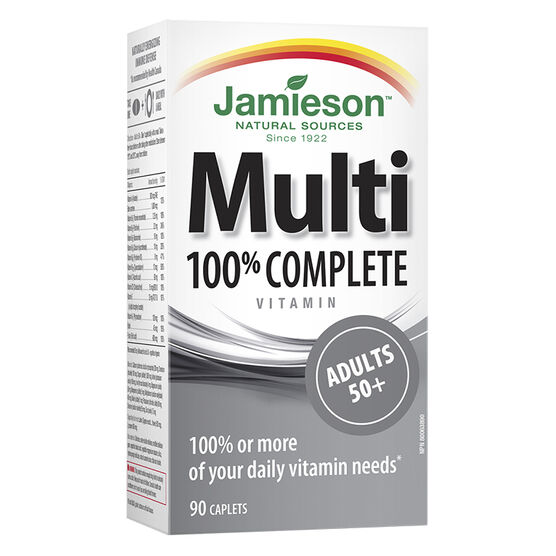 Jamieson Multi 100% Complete Vitamin - Adults 50+ - 90's