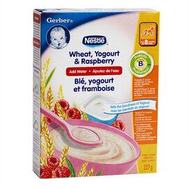 Nestle Baby Cereal With Milk- Wheat Yogurt & Raspberry - 227g