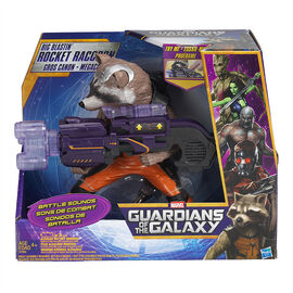Marvel Guardians of the Galaxy Big Blastin' Rocket Raccoon Figure - SFX