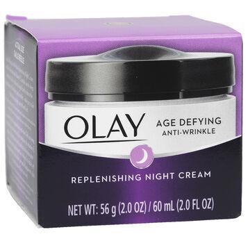 Olay Age Defying Anti-Wrinkle Replenishing Night Cream - 60ml