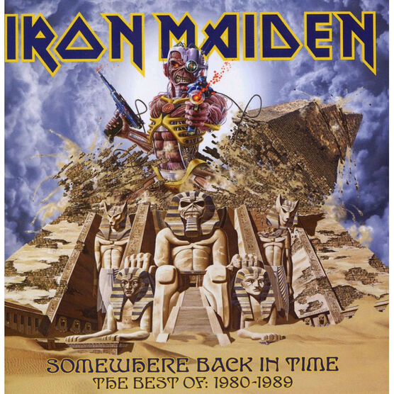 Iron Maiden - Somewhere Back in Time -  The Best of: 1980-1989 - CD