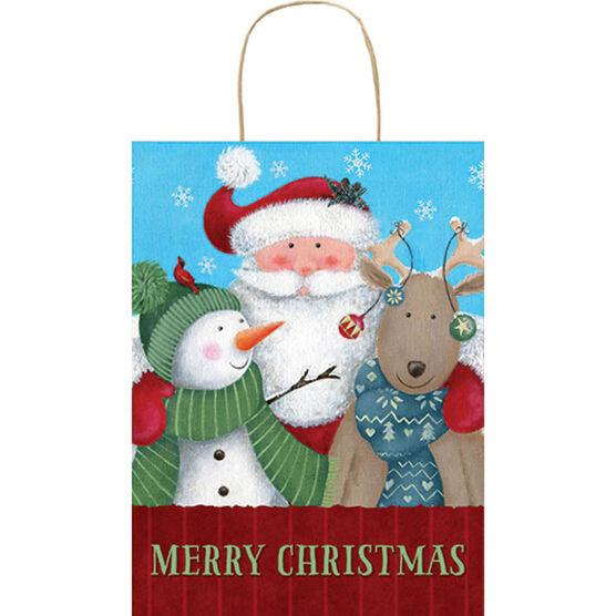 Merry Christmas Gift Bag - Large - 14243999-BARO