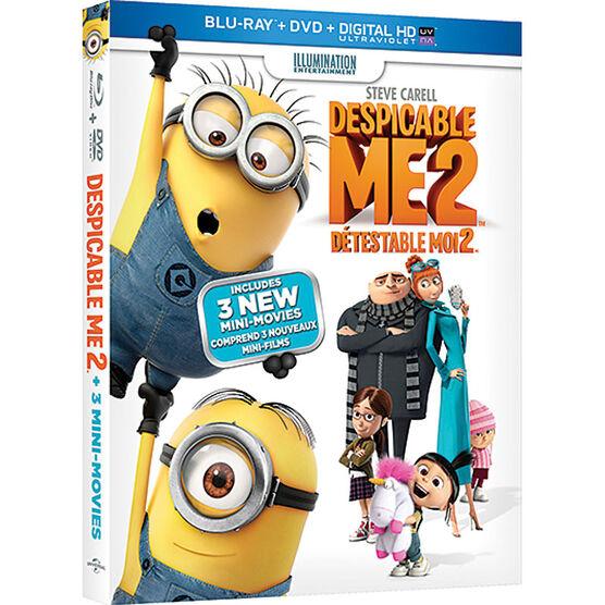 Despicable Me 2 - Blu-ray + DVD + Digital Copy + Ultraviolet