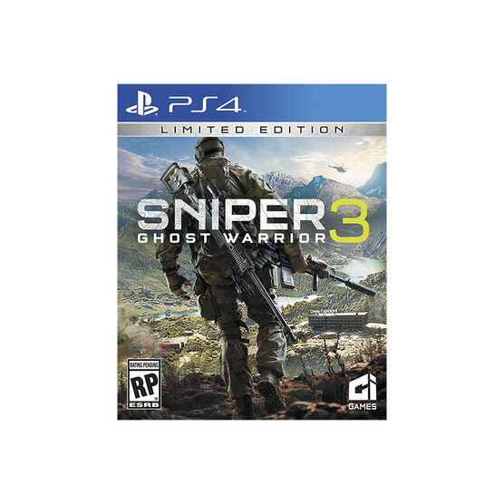 PRE-ORDER: PS4 Sniper Ghost Warrior 3 Limited Edition