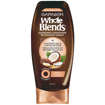 Garnier Whole Blends Smoothing Conditioner - Coconut Oil & Cocoa Butter - 370ml