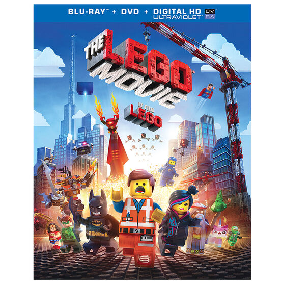 The Lego Movie - Blu-ray + DVD + Ultraviolet