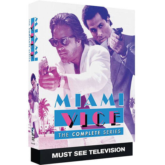 Miami Vice: The Complete Series - DVD