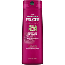 Garnier Fructis Full & Plush Shampoo - 370ml