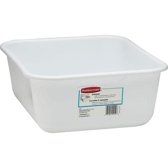 Rubbermaid Dishpan - White - 10.8L