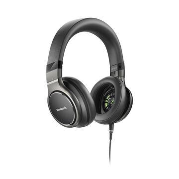 Panasonic Hi-Res Headphones - Black - RPHD10K