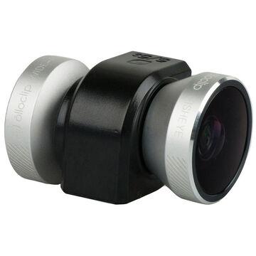 Olloclip 4-in-1 Lens for iPhone 5/5S/SE - Black/Silver - OC0000209EU