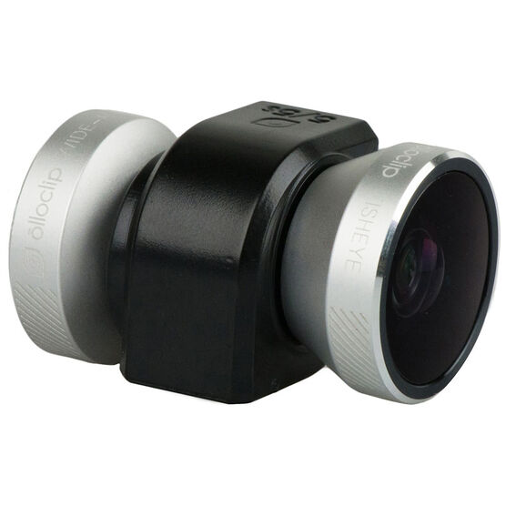 Olloclip 4-in-1 Lens for iPhone 5/5S/SE - Black/Silver - OC0000209EU