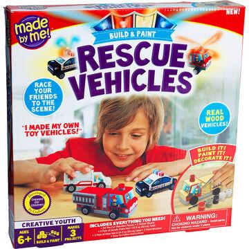 Build & Paint Rescue Vehicles Kit
