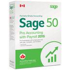 Sage 50 Pro Payroll 1 User - 2016