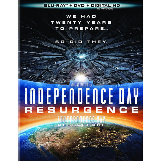 Independence Day 2: Resurgence - Blu-ray