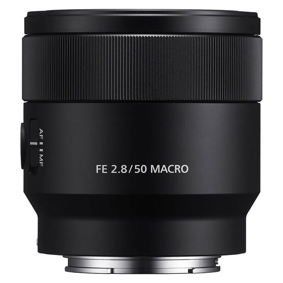 Sony FE 50mm F2.8 Macro Lens - Black - SEL50M28