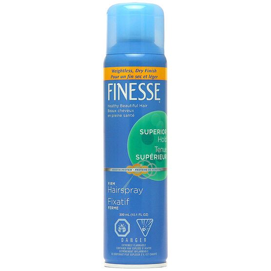 Finesse Firm Hold Aerosol Hairspray - 300ml