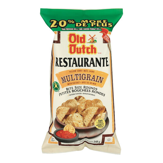 Old Dutch Restaurante Bites - Multigrain - 348g
