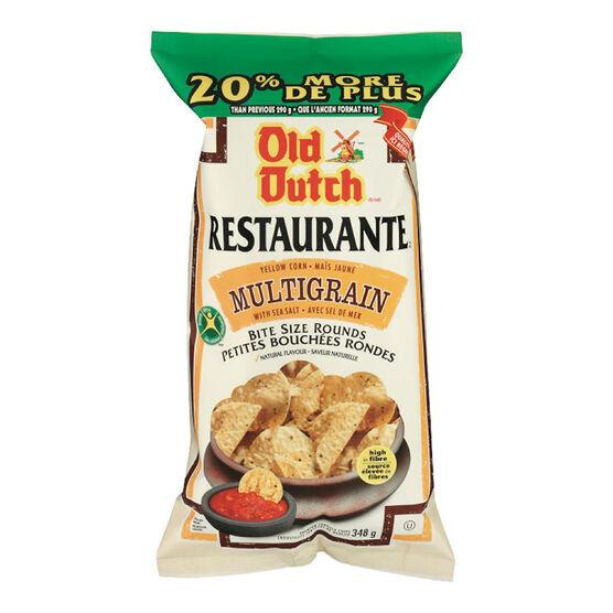 Old Dutch Restaurante Bites - Multigrain - 348g