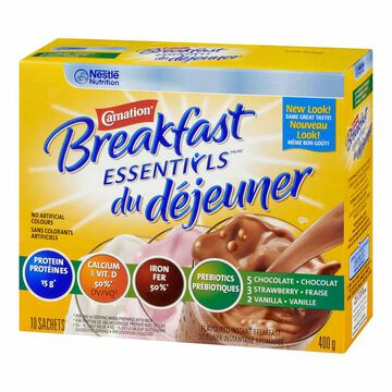 Nestle Carnation Breakfast Anytime - Variety Pack - 10 x 40g