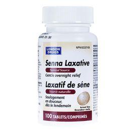 London Drugs Senna Laxative Tablets - 100's