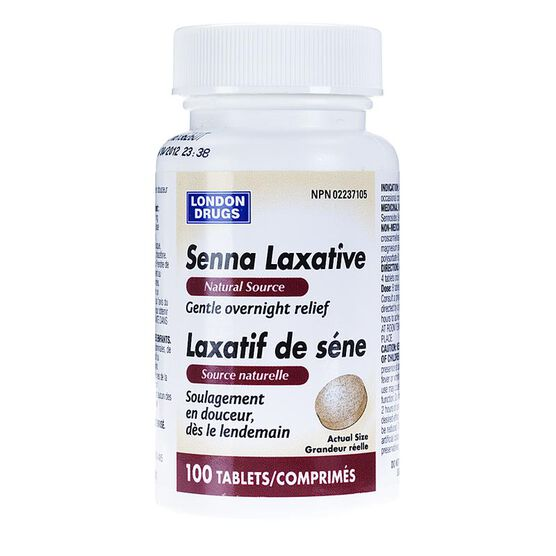 London Drugs Senna Laxative Tablets - 100's