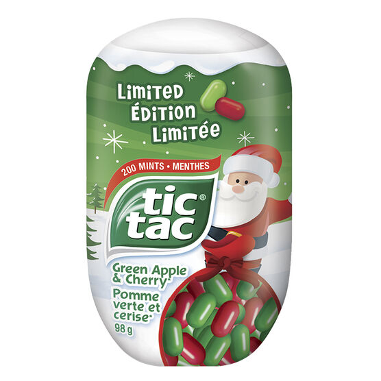Tic Tac Limited Edition - Green Apple & Cherry - 98g