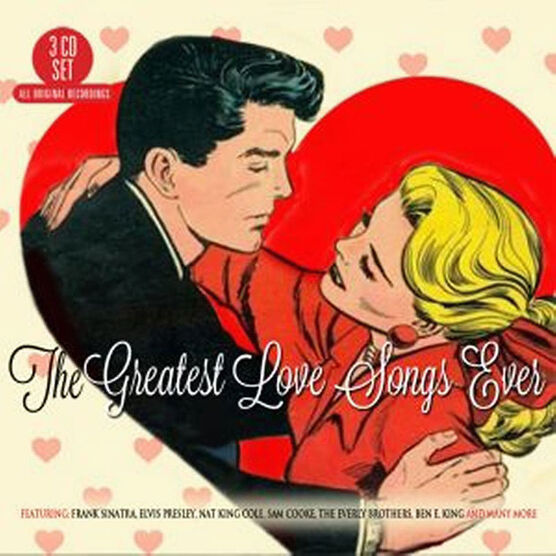 Various Artists - The Greatest Love Songs Ever - 3CD