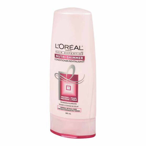 L'Oreal Nutri-Shimmer Conditioner for Normal or Dull Hair - 385ml