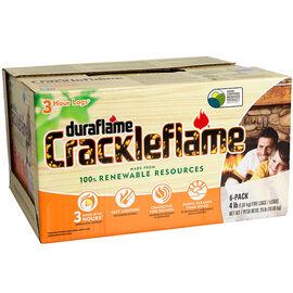 Duraflame Crackleflame Firelog - 6 pack