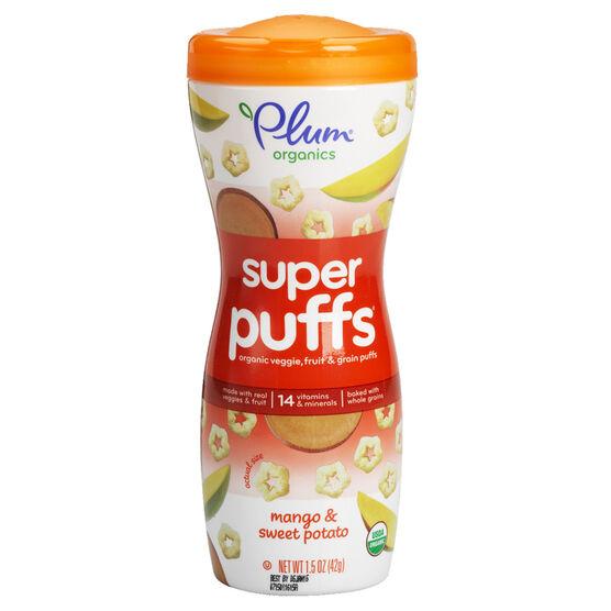 Plum Organics Super Puffs - Mango and Sweet Potato - 42g