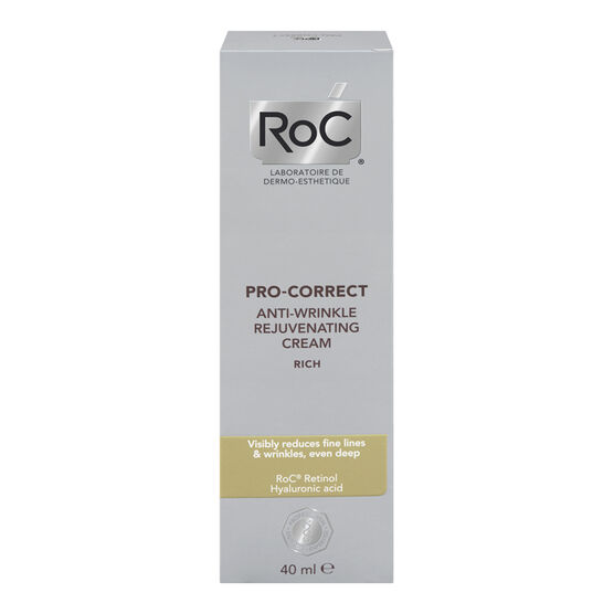 RoC Pro-Correct Anti-Wrinkle Rejuvenating Cream - 40ml