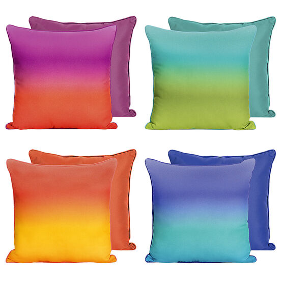Boutique Ombre Cushion - Assorted