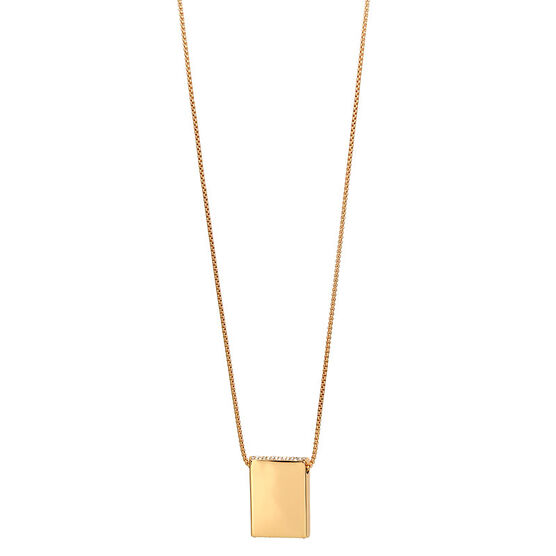 Kenneth Cole Crystal Necklace - Gold